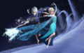 Jack, Elsa and Periwinkle - disney-crossover photo