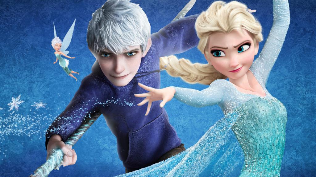 Jack, Elsa and Periwinkle