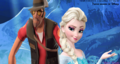 The Professional Assassin and The Snow Queen - disney-crossover wallpaper