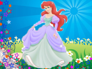 डिज़्नी princess ariel newest look