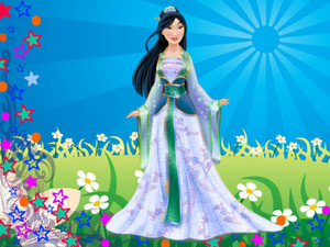 Disney princess Mulan newest look