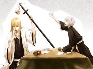 जिन Ichimaru and Shinji Hirako