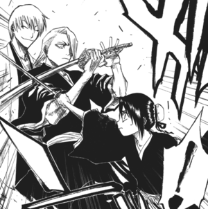 जिन Ichimaru and Kira and Hinamori
