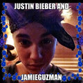 justin bieber and jamie guzman - justin-bieber fan art