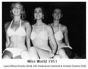 miss world 1951-winners