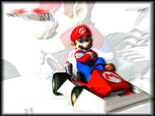 Mario Kart 바탕화면 entitled mkds