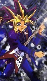 yami yugi violão, guitarra
