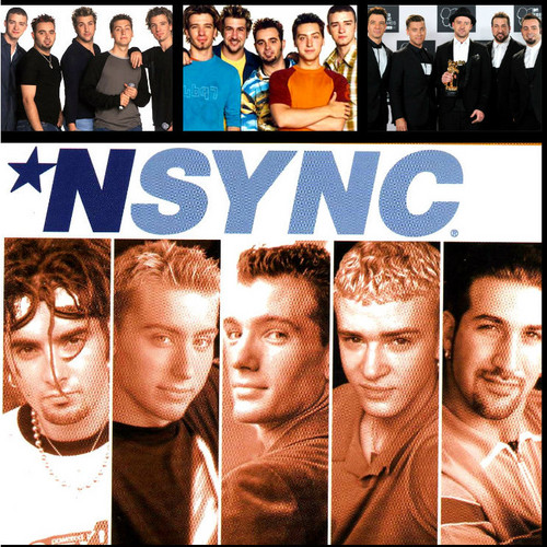 NSYNC wallpaper possibly with a sign titled nsync