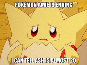 pokemon amie is ending