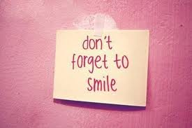 plz smile!