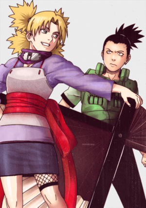 Сикамару and Temari