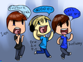 Smosh and Pewds