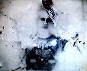 Frozen under ice