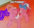 use pyswave - my-little-pony fan art