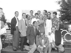 1952 - Sunday, August 3 - rayon, ray Anthony's accueil party