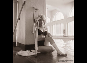 1953 Marilyn Monroe was in Banff Alberta Canada