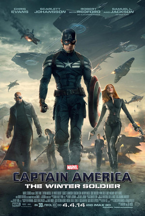 Captain America: The Winter Soldier - Super Bowl Poster