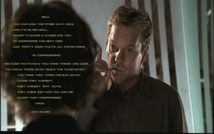 Jack Bauer's integrity speach.