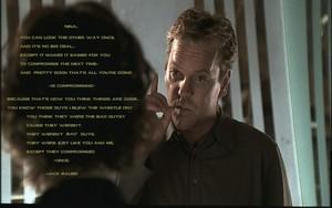 Jack Bauer's integrity speach.