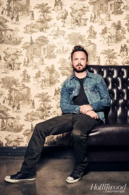 Aaron Paul// The Hollywood Reporter