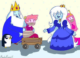 Ice king capture prince gumball and ice queen capture pirncess bubblegum