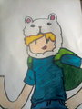 Finn! my Drawing! - adventure-time-with-finn-and-jake photo