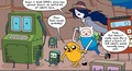 BMO virus comics  - adventure-time-with-finn-and-jake photo