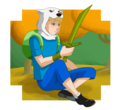 Blade of grass - adventure-time-with-finn-and-jake fan art