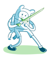 Grass Sword - adventure-time-with-finn-and-jake fan art