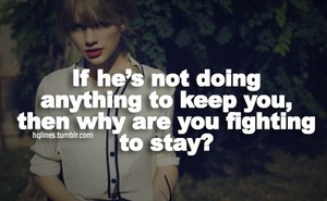 Taylor 迅速, スウィフト アドバイス