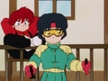 [Ranma 1/2 Akane Tendo] らんま1/2 天道あかね ( Ranma-chan in the background)
