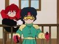[Ranma 1/2 Akane Tendo] らんま1/2 天道あかね ( Ranma-chan in the background)