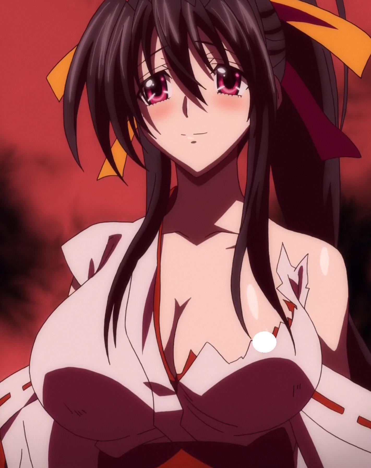 Akeno Blushing