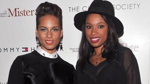 Alicia Keys And Jennifer Hudson