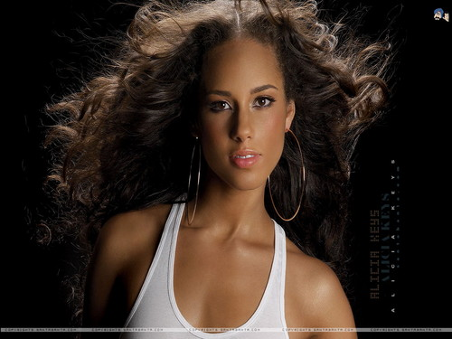 Alicia Keys wallpaper possibly with a portrait titled Alicia Keys