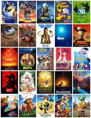 My favori Animated Non-Sequel Films (Alpha And Omega among them)
