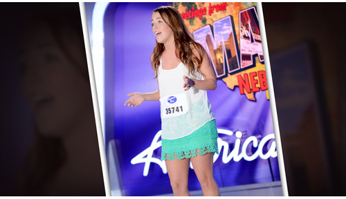 American Idol wallpaper possibly containing anime entitled Caitlin Davis