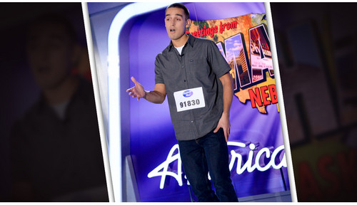American Idol wallpaper probably with a sign, a business suit, and a well dressed person titled Jack Janowicz