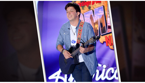 American Idol wallpaper probably containing a sign and a concert entitled Dylan Becker