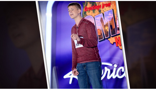 American Idol wallpaper probably with long trousers, a sign, and an outerwear entitled Matthew Hamel