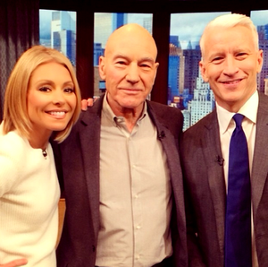 Anderson, Sir Patrick and Kelly - Live with Kelly and Michael!