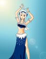 angel as a Belly Dancer