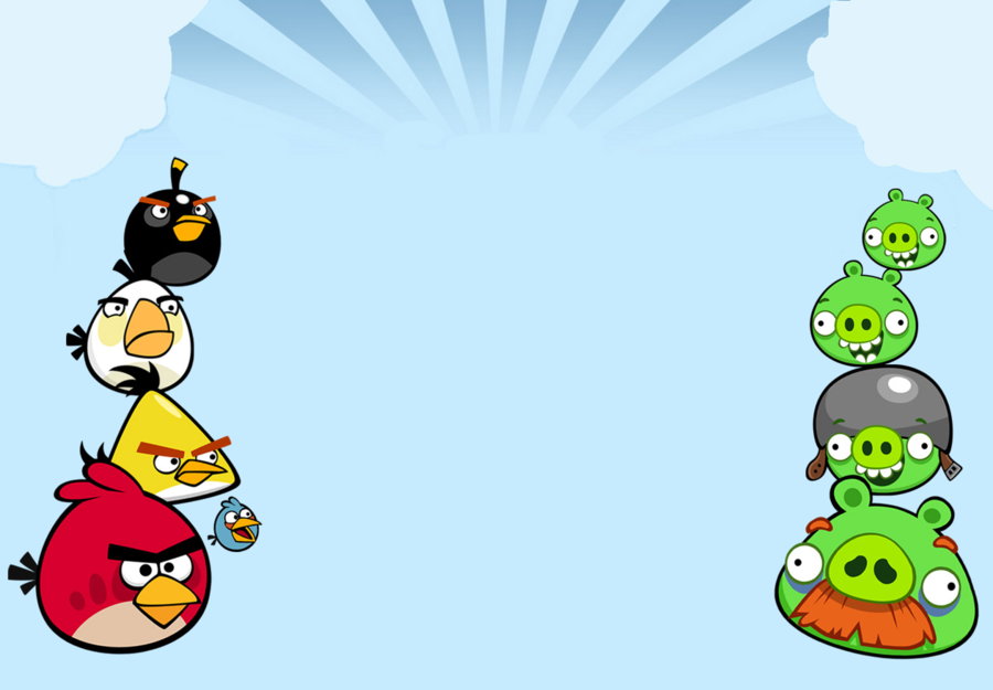 Angry birds images mural angry birds hd wallpaper and for Angry bird wall mural