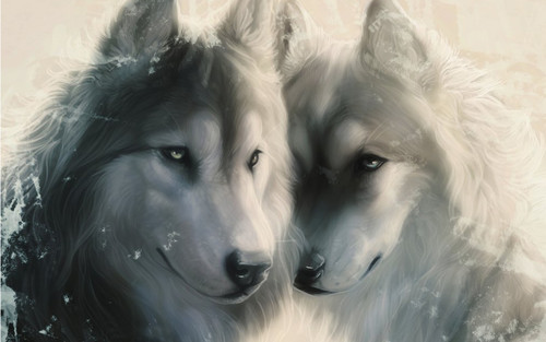 Animals wallpaper entitled Wolfs