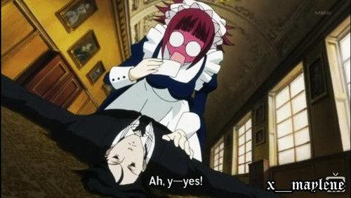 Mey-Rin and Sebastian: Black Butler
