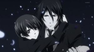 Demon Ciel and Sebastian: Black Butler