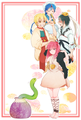 Magi Cuties - anime fan art