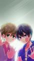 Makoto and Haruka - anime fan art
