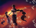 Aladdin and Judar - anime fan art