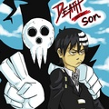 Lord Death and Death the Kid: Soul Eater - anime fan art